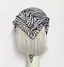 Load image into Gallery viewer, Zebra Chiffon Scarf