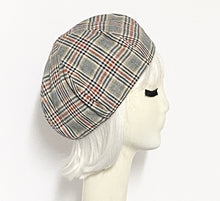 Load image into Gallery viewer, Plaid Beret Hat