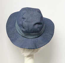 Load image into Gallery viewer, Denim Sun Hat