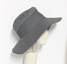 Load image into Gallery viewer, Striped Wide Brim Hat