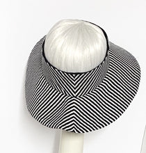 Load image into Gallery viewer, Striped Sun Visor Hat