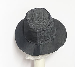 Denim Fedora