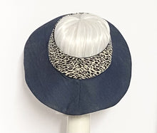 Load image into Gallery viewer, Denim Sun Visor Hat