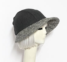 Load image into Gallery viewer, Asymmetrical Cloche Hat