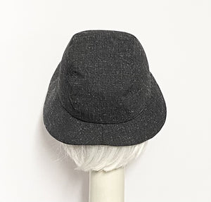 Asymmetrical Cloche Hat