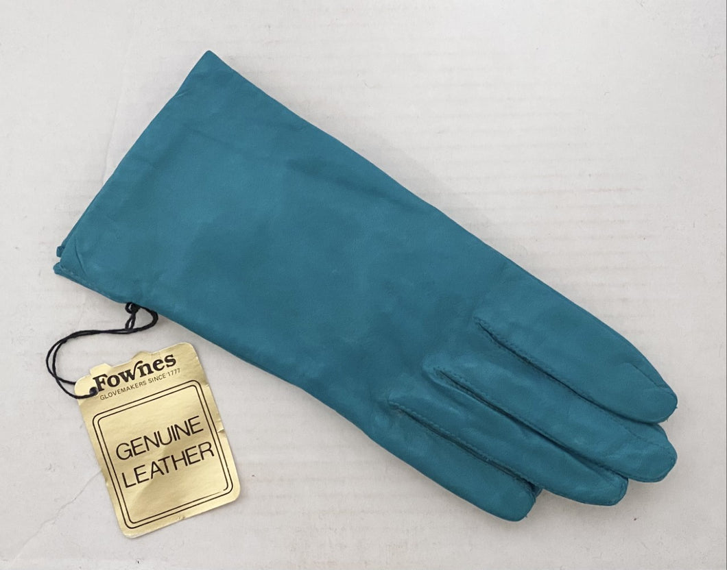 Vintage Fownes Leather Gloves