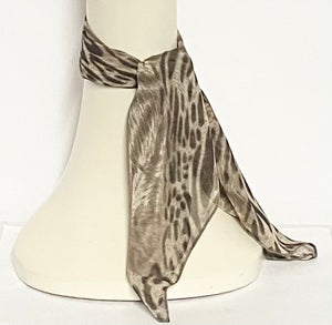 Cheetah Silk Scarf