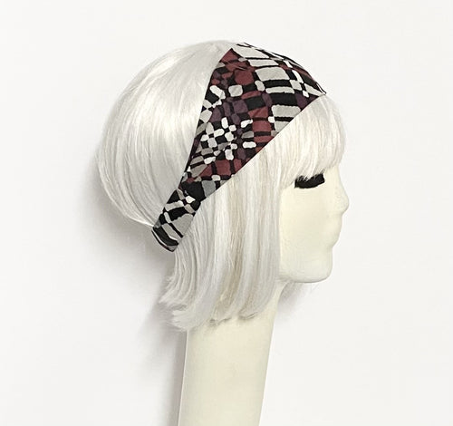 Abstract Knit Headband