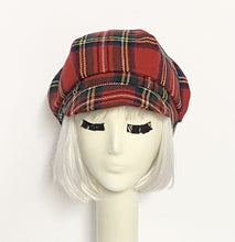 Load image into Gallery viewer, Plaid Newsboy Cap