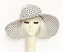 Load image into Gallery viewer, Polka Dot Sun Visor Hat