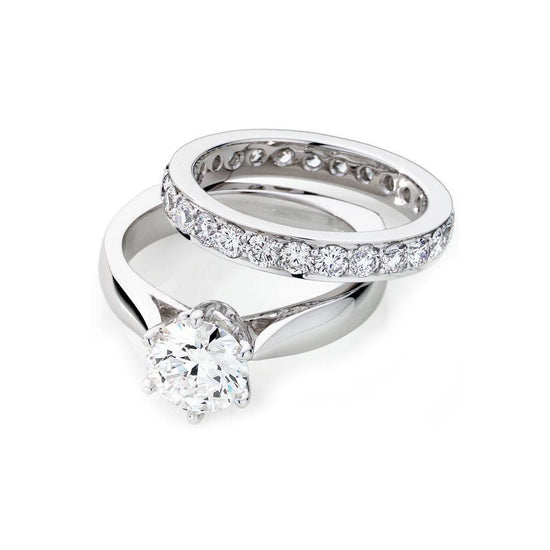rings sets solitaire engagement jewellery wedding couples ring band and with