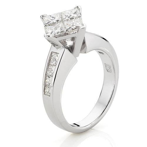weight prong rings carat diamond xlarge band total set womens click wedding stone