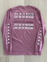 Love on the Weekend Long Sleeve Shirt - Snack Money