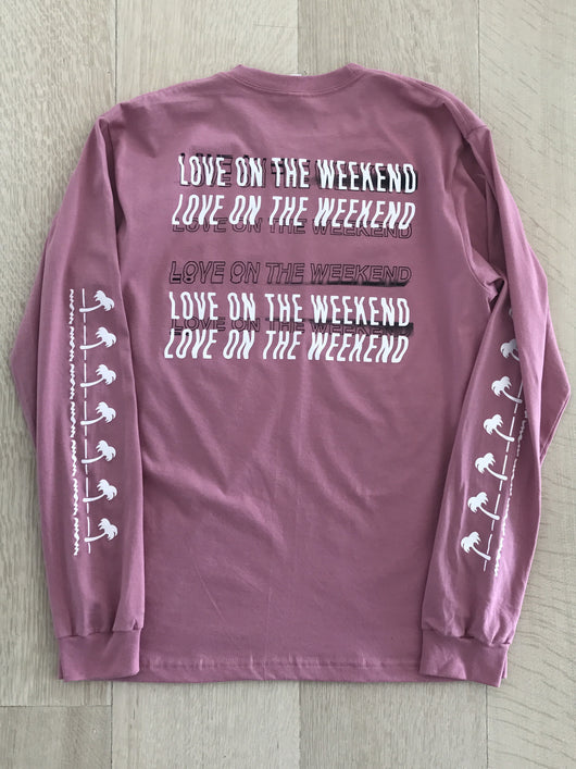 Love on the Weekend Long Sleeve Shirt