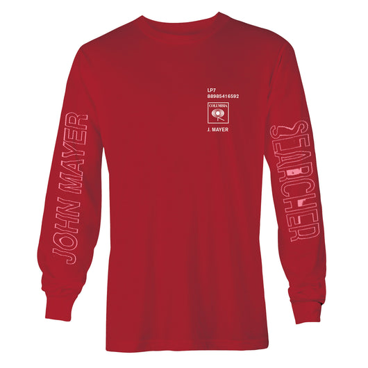 The Search For Everything Red Long Sleeve Shirt - Snack Money
