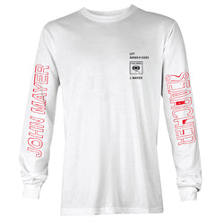 The Search For Everything White Long Sleeve Shirt - Snack Money