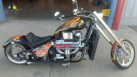 "2007 V8 V8 Chopper (350"") 350HP Custom Paint - sold to shop"