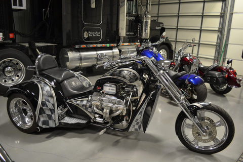 "2010 V8  Hot Rod  (400"" engine) chequered - SOLD"