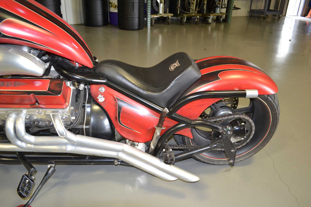 "2014 V8 (350"" Engine) Rat Red/Flat Black - SOLD -"