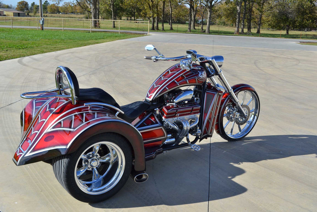 2016 V8  Hot Rod (400″ Engine) Candy Red - SOLD -