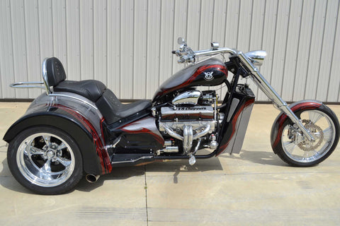 2016 V8  Hot Rod  (400″ Engine) Stardust Silver/Maroon (PRE-OWNED) - SOLD -