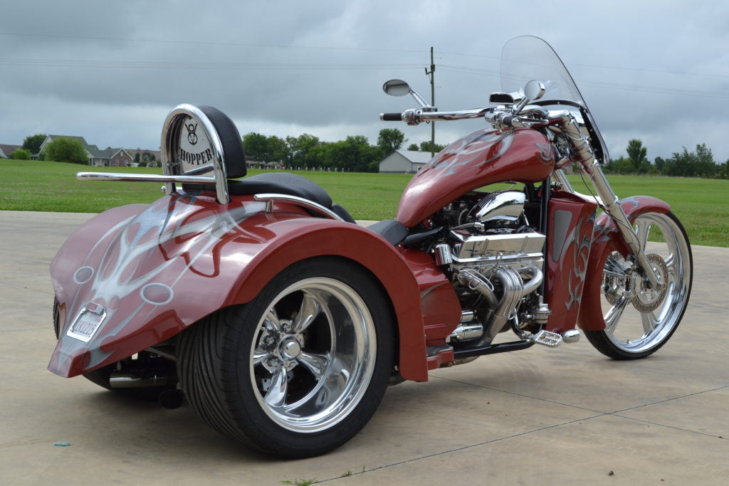 "2016 V8 Hot Rod ( 400"" ) 'Vette Red - SOLD -"