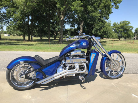2019 V8 Chopper / Fuel Injected 350 Blue Pearl