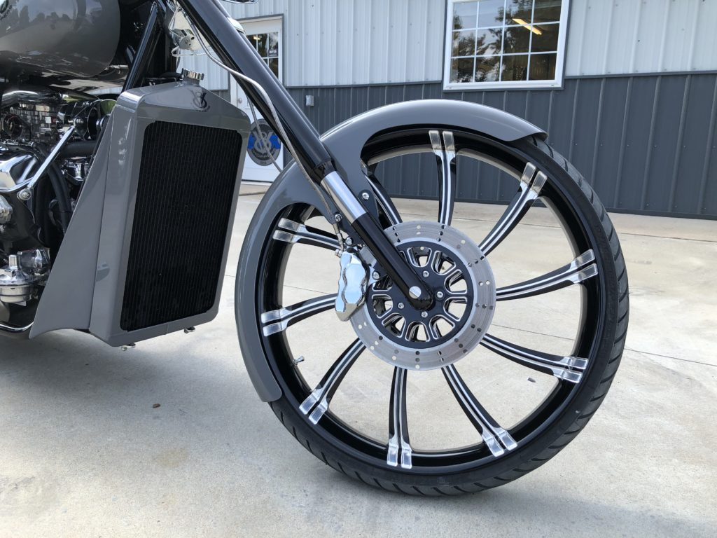 "2019 V8 Chopper 350"" Destroyer Grey"