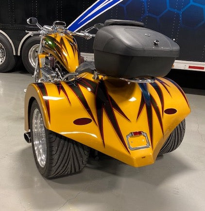 2014 | 400ci | Gold Hot Rod Trike