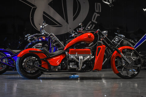 2019 V8 Chopper 350 Fuel Injected / Red