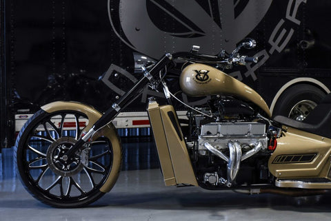 2019 Hot Rod Trike | 400ci | Sandstone & Black