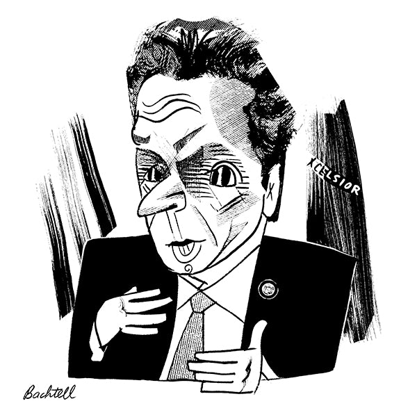 Andrew Cuomo By Tom Bachtell for New York Review of Books