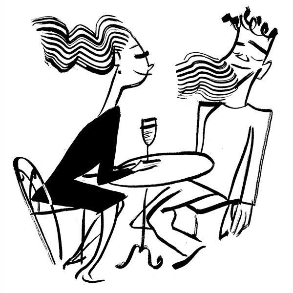 """*Summer Café Spot for The New Yorker #2"""