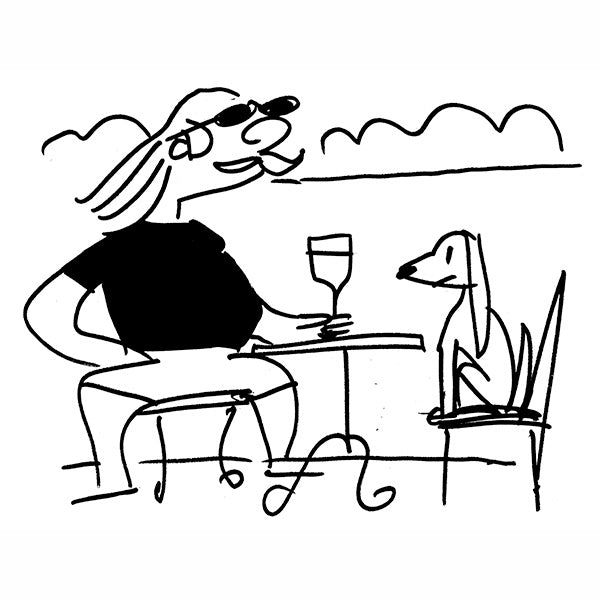 """*Summer Café Spot for The New Yorker #11"""