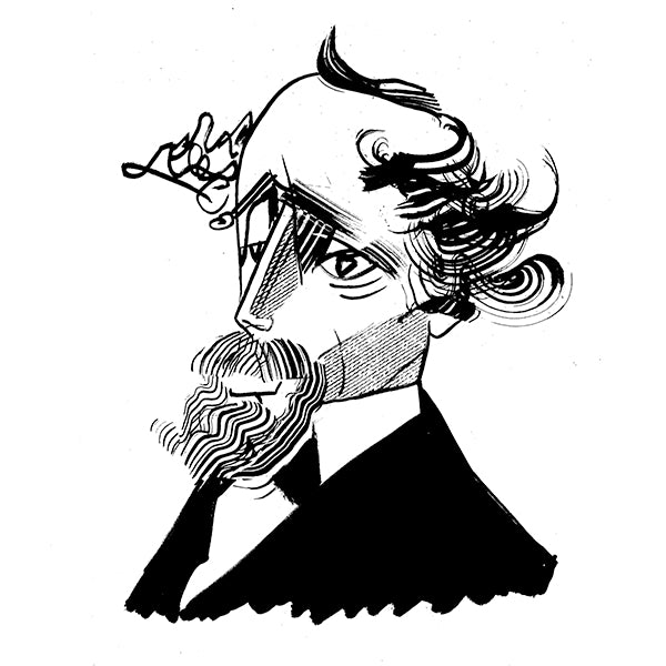 Charles Dickens by Tom Bachtell for The Wall Street Journal