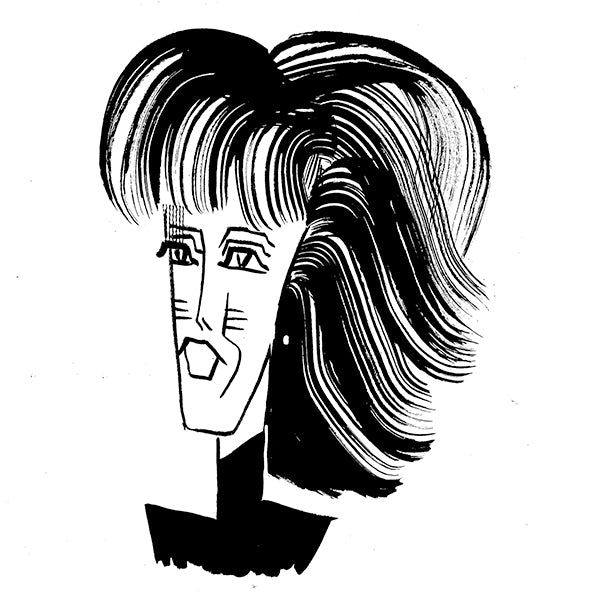 Nora Ephron by Tom Bachtell for The Wall Street Journal