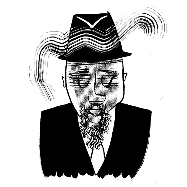 Thelonius Monk by Tom Bachtell for The Wall Street Journal
