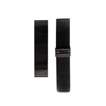 black mesh strap mens and womens designed by architects WHY Watches