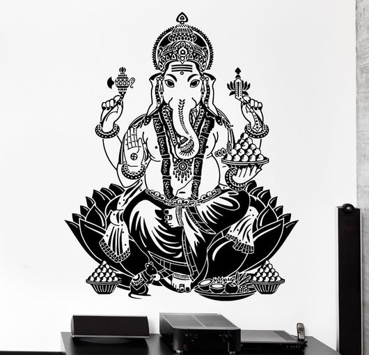 Ganesh - Removable Wall Decal