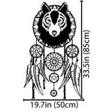 Wolf Dreamcatcher - Wall Decals