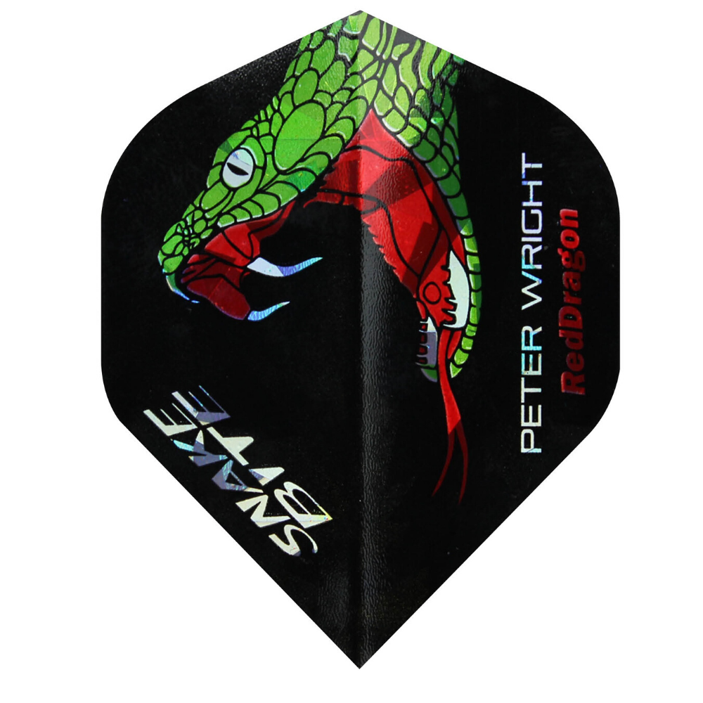 Red Dragon Snakebite Holographic Dart Flights