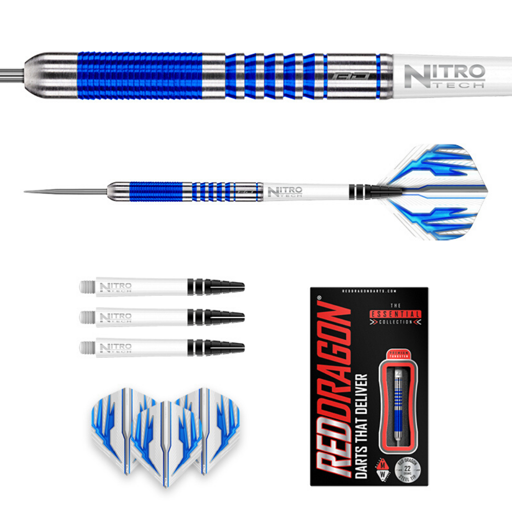 Colin Lloyd Blue PVD Steel Dart 22g