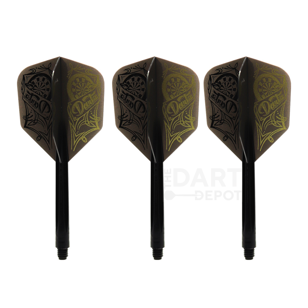 Condor Zero Stress Flights & Shafts - Dartboard Shape