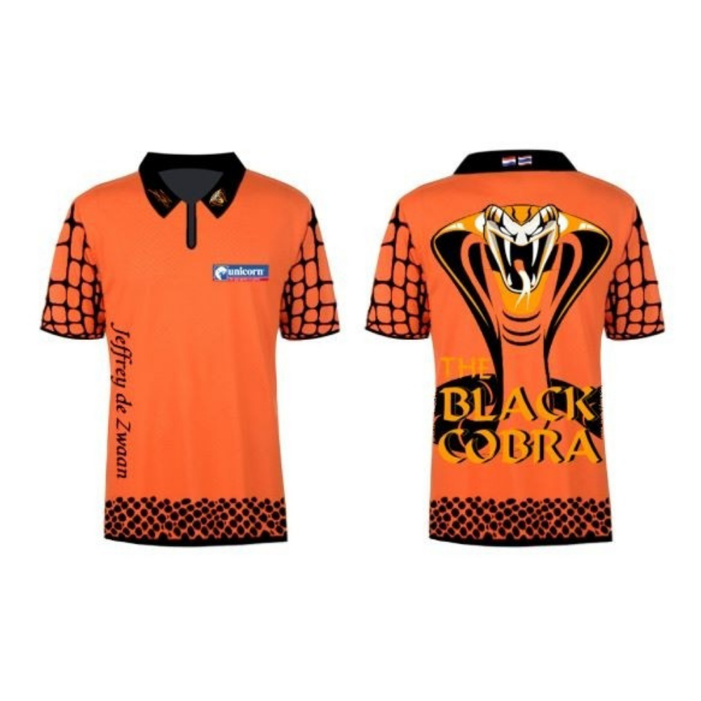 Limited Edition Jeffrey De Zwaan Orange Shirt