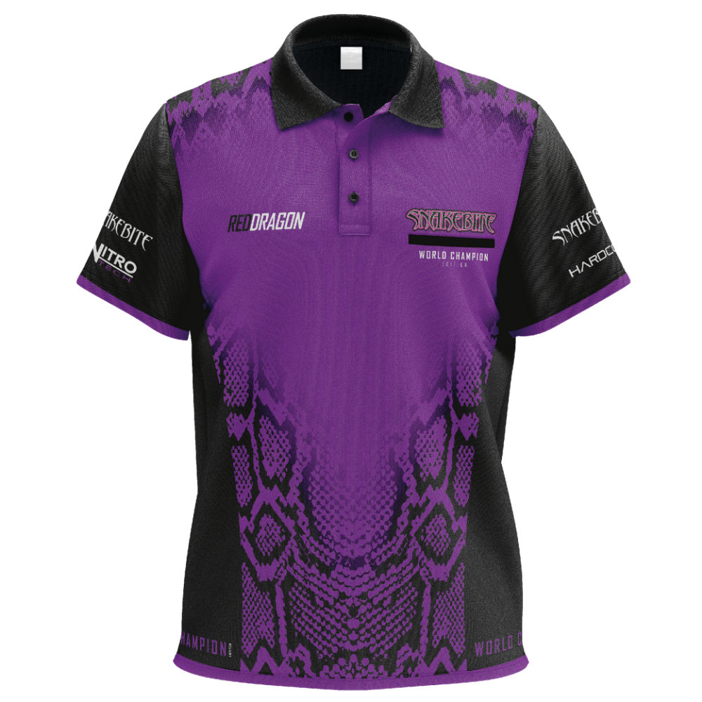 Red Dragon Peter Wright World Champion Shirt