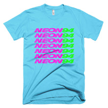 bright ass neon94 logo t-shirt