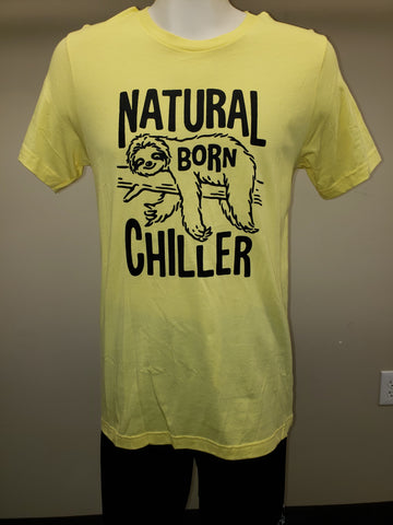 Natural Born Chiller t-shirt