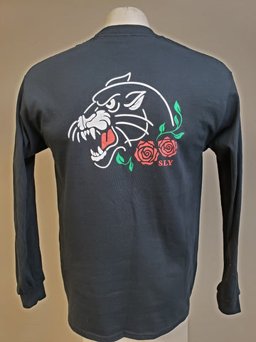 Panther / rose long sleeve