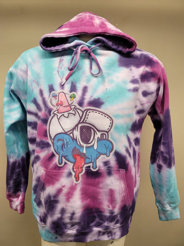 Melty tie dye sweatshirt