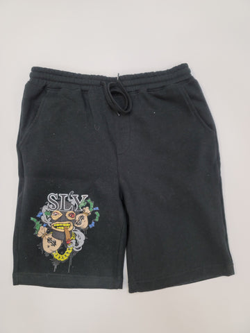 Sly ski mask shorts